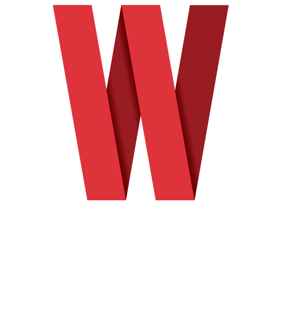 Widif Red Logo Stacked
